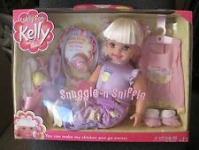 """Cuddly Soft Kelly Sister Barbie Snugle 'n Sniffle 16"""" Soft...New In The Box!!!!"""