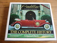 CADILLAC STANDARD OF THE WORLD COMPLETE HISTORY AUTOMOBILE QUARTERLY BOOK  jm