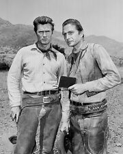 Clint Eastwood, Eric Fleming - Rawhide -  8X10