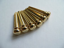 Brass premium bridge pin set for acoustic guitars string pegs pins