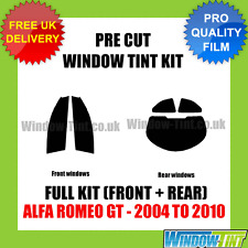 ALFA ROMEO GT 2004-2010 FULL PRE CUT WINDOW TINT KIT
