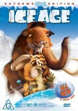 DVD ICE AGE EXTREME COOL EDITION 2 DISC SET LIKE NEW  FAST FREE POST REGION 4
