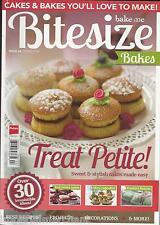 Bitesize Bakes magazine Red velvet cakes Mini cupcakes Fondant fancies Recipes