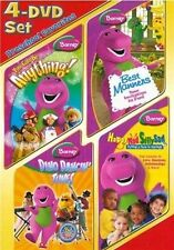 BARNEY PRESCHOOL FAVORITES 4 DVD Can Be Anything Best Manners Dancin Tunes Silly