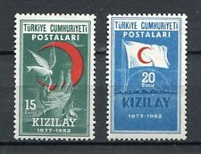 30852) TURKEY 1952 MNH** Turkish Red Crescent 2v.