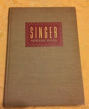 Vintage Singer Sewing Book W/ Wear 1949 Copyright