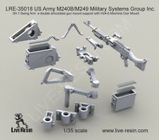 Live Resin 1:35 M240B M249 SA 1 Swing Arm w/ H24-6 Mountain - Resin #LRE35018