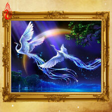 YGS-70 5D DIY Two flying Phoenix Rubik Cube Diamond Embroidery Diamond Painting