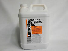 5 Ltr Bartoline Boiled Linseed Oil - 5 L - COLLECTION ONLY LISTING