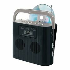 NEW JENSEN PORTABLE CD PLAYER RADIO iPOD iPHONE MP3 AUX CONNECT STEREO SYSTEM