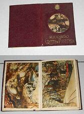 12 fotografie RICORDO GROTTE DI POSTUMIA Regno d'Italia colori souvenir