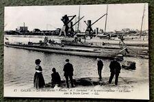 CPA. CALAIS. 62 - Sous-Marins Ventôse et Germinal. Contre-torpilleur La Lance.