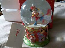 Mickey Mouse 75th Anniversary Disney Store Exclusive Snow Globe NIB 5""