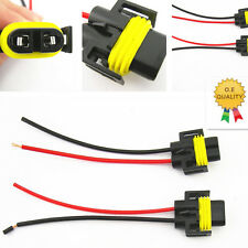 2 Pcs H11 H8 Female Adapter Wiring Harness Sockets Wire For Headlights Fog Light
