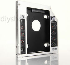 SATA 12.7 2nd HDD SSD Hard Drive Caddy Adapter for Acer Aspire 5750 5750G 5755G