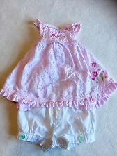 Baby Girls Clothes Newborn - Cute Outfit  - Frilly Top & Shorts- ✅ Our Bundles