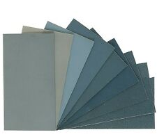 "Micro-Mesh Regular - Abrasive Polishing Cloth Kit - 9 Sheets of 6""x4"""