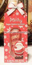 Holiday SUGAR COOKIE Lip Gloss Carded SANTA
