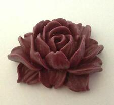 2pc 46x38mm flower resin cabochon-5203