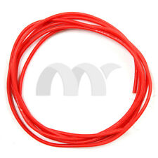 24 AWG 5 Feet (1.5m) Gauge Silicone Wire Flexible Stranded Copper Cables Red