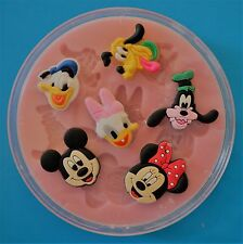 DISNEY CLASSICS 002 SILICONE MOULD FOR CAKE TOPPERS, CHOCOLATE, CLAY ETC