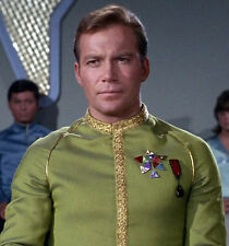 Star Trek TOS Captain Kirk Dress Uniform Awards Cosplay