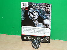 DICE MASTERS DC War of Light Super Rare - 142 Black Lantern Wonder Woman