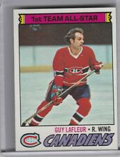 1977-78 TOPPS #200 GUY LAFLEUR MONTREAL CANADIANS 4195