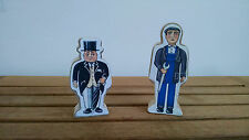Sir Topham Hatt, Workman Figures PAPER BACK Thomas & Friends Wooden Railway