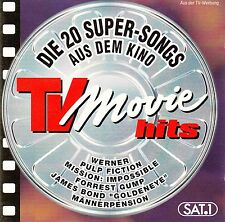 TV MOVIE HITS - DIE 20 SUPER-SONGS AUS DEM KINO / CD (MCA RECORDS MCD70018)