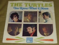 """TURTLES 7"""" 45RPM PS YOU KNOW WHAT I MEAN ROCK POP PSYCH FLO & EDDIE WHITE WHALE"""