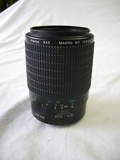 Mamiya 645 AF 120MM F4 MF Macro Lens for all Mamiya and Phase AF Cameras in EC