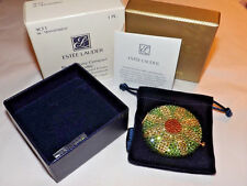 Estee Lauder ~ BE MY DAISY ~ CRYSTAL COMPACT Lucidity Pressed POWDER New in Box