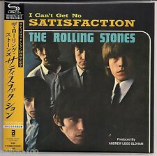 "ROLLING STONES ""SATISFACTION"" JAPAN SHM-CD 7 INCH SLEEVE *SEALED"""
