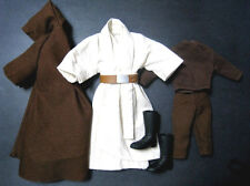 "1/6 Old Obi Wan outfit Hasbro Star War for 12"" Hot Toys Sideshow Figure Custom"