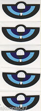 SPECIAL AIR SERVICE REGIMENT PARACHUTE BADGE ADHESIVE STICKER 95MM X 45MM QTY 5