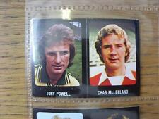 1979/1980 Football Sticker 79/80: 389) Aberdeen - Chas McLelland & 221) Norwich