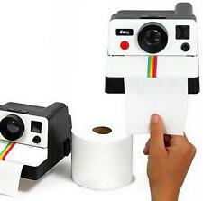 Retro Camera Shaped Toilet Roll Tissue Paper Box Case Holder Cover Organizer