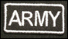 ARMY Iron-On Patch for US T-Shirt/Uniform/BDU/ACU/Cap/Bag/Hat 25P