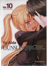 D/BOOKS GUNSLINGER GIRL VOLUME 10 CON LIBRETTO (SCONTO 20%) BLISTERATO