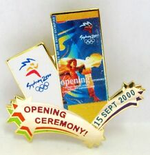 OPENING CEREMONY 15 SEPT SYDNEY OLYMPIC GAMES 2000 PIN BADGE COLLECT #358
