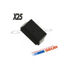 25X Diodo Rectificador 1N4007 SMD DO214