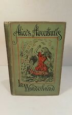 ALICE'S ADVENTURES IN WONDERLAND. LEWIS CARROLL. 1887. PEOPLE'S EDITION. RARE.