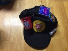 21st BIRTHDAY NOVELTY HAT CAP GOODBYE BOUNCER HELLO BARTENDER SNAP BACK NWT