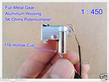 DC 3V~5V Mini Full Metal Gear Motor Mini Coreless Servo Precision Gear Motor