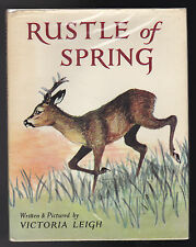 Victoria Leigh - Rustle of Spring - 1st/1st 1967 in Scarce DW - New Forest Deer