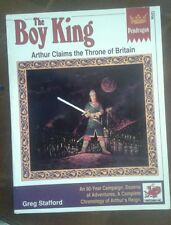The Boy King Pendragon chaosium fantasy arthurian RPG roleplaying book
