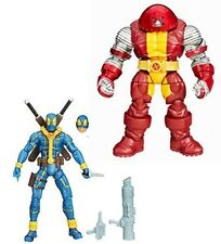 "Marvel Infinite Universe X Men DEADPOOL & COLOSSUS 3.75"" figures set juggernaut"