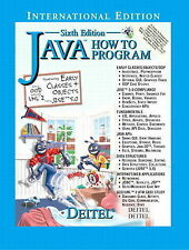 Java How to Program, Paul Deitel, Good Condition Book, ISBN 0131290142