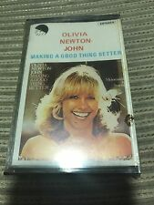 OLIVIA NEWTON JOHN SPANISH CASSETTE TAPE MAKING A GOOD THING BETTER SEALED